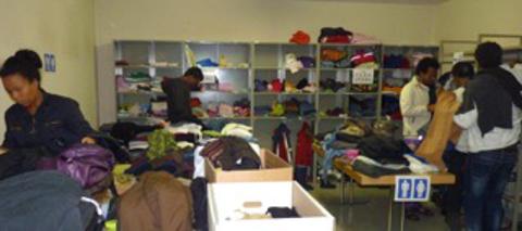 Kleidershop Bild